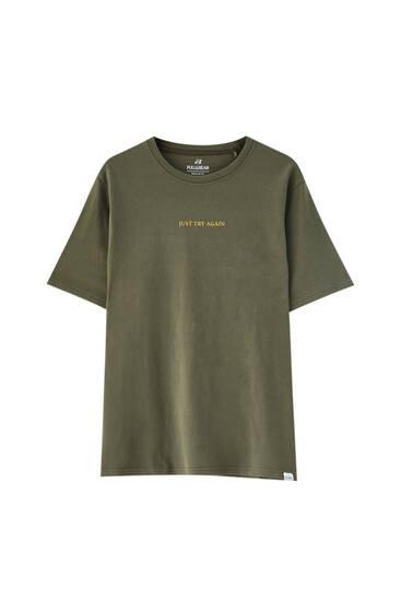 Camiseta básica colores - Al menos 50% algodón orgánico