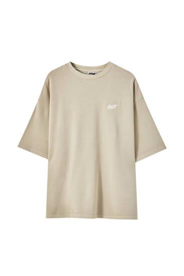 Tričko basic zkapsulové kolekce Homewear
