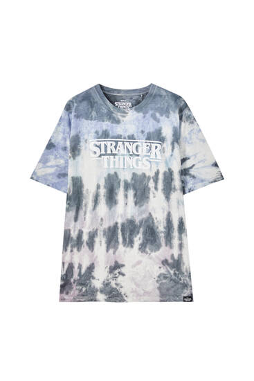 Tie-dye print Stranger Things T-shirt