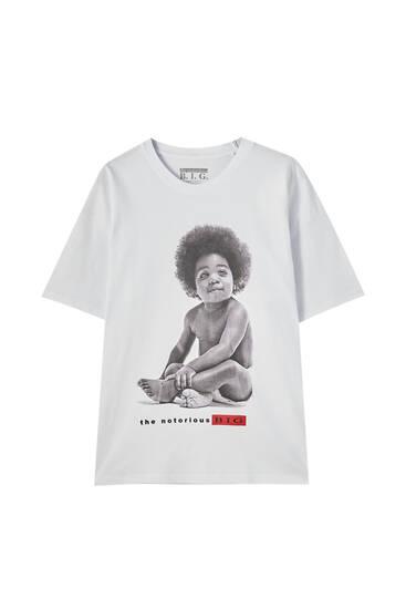 T-shirt med The Notorious B.I.G.