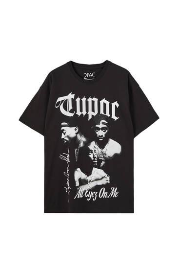 Black Tupac T-shirt