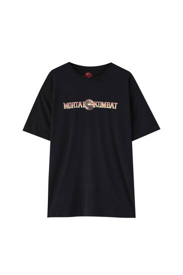 Mortal Kombat black T-shirt