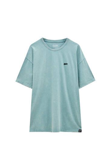 Basic acid wash T-shirt