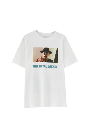 White Full Metal Jacket T-shirt