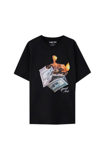 Black Young Thug T-shirt