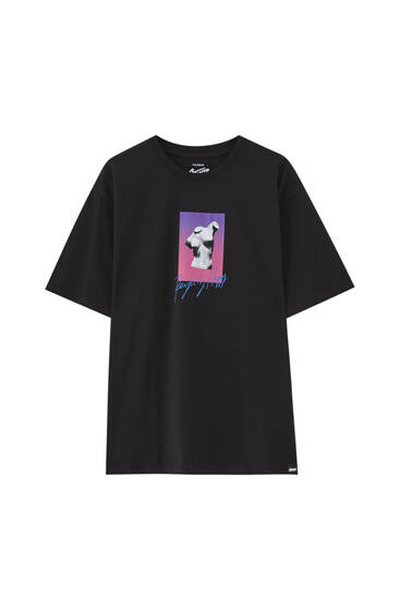 Svart t-shirt STWD