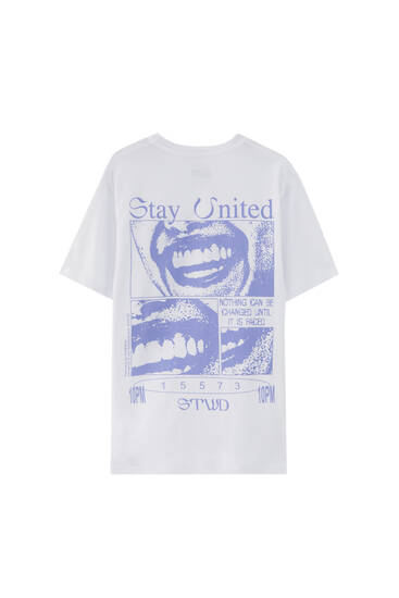 STWD t-shirt smile