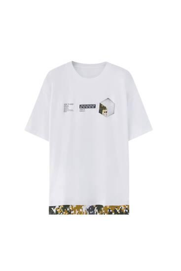 Short sleeve camouflage T-shirt