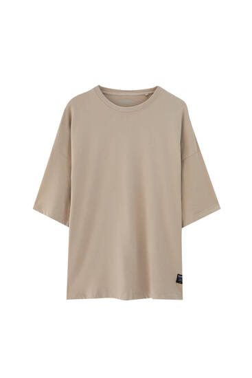 Basic short sleeve loose T-shirt