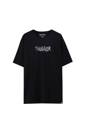 Camiseta negra Young Thug