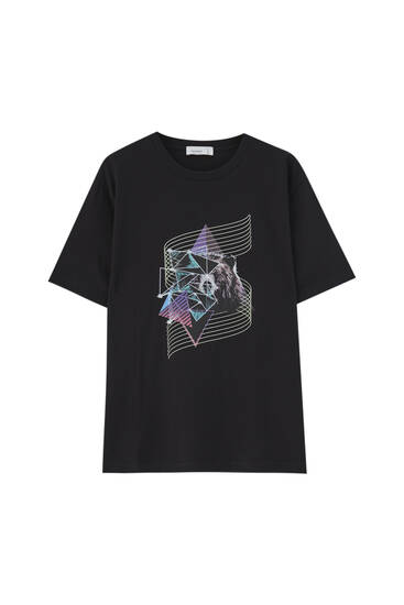 '80s black bear T-shirt