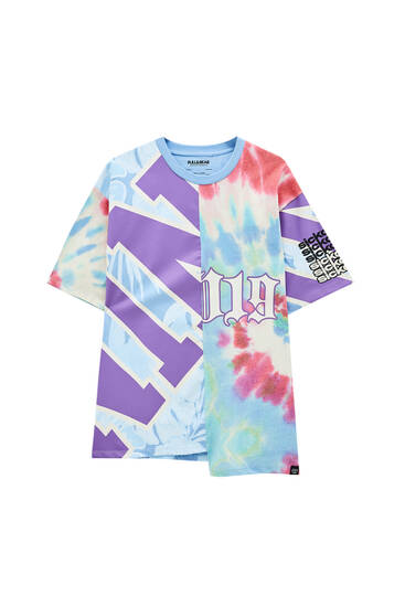 Psychedelic print Sicko T-shirt