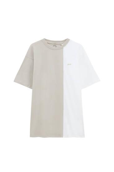 STWD colour block T-shirt