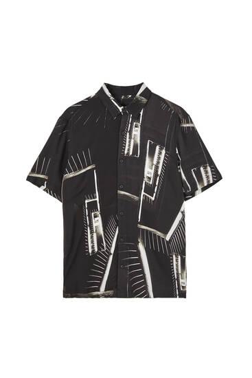 Urban print shirt