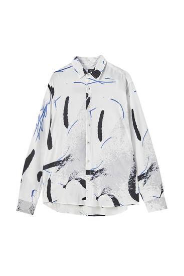 Paint splatter shirt