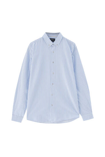 Basic long sleeve cotton shirt