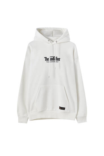 White The Godfather hoodie