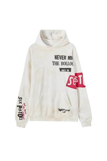 White Sex Pistols hoodie