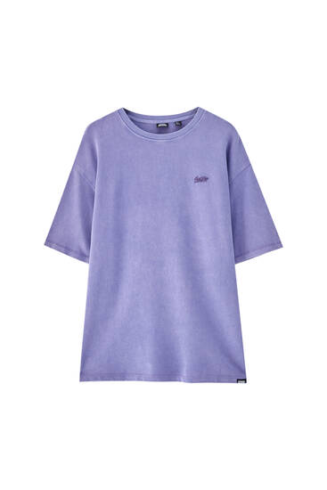 Plush STWD T-shirt - 100% ecologically grown cotton