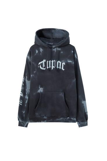 Sudadera Tupac tie-dye
