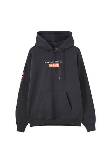 Black The Notorious B.I.G. hoodie