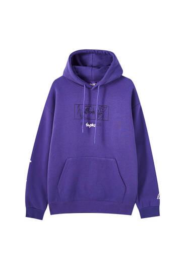 Violet Naruto hoodie