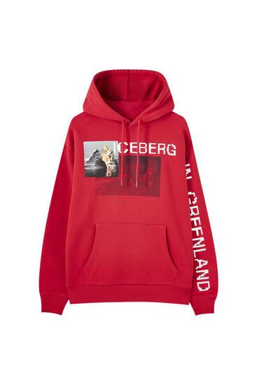 Red STWD Iceberg hoodie