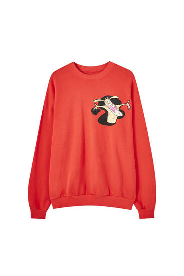 Red Cow and Chicken sweatshirt