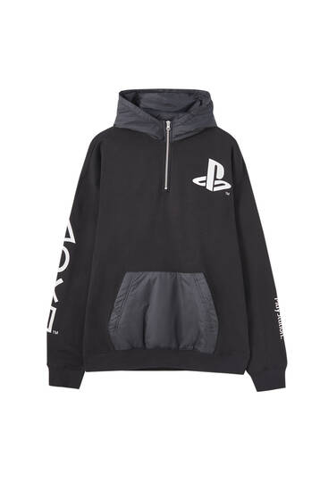Sudadera combinada PlayStation