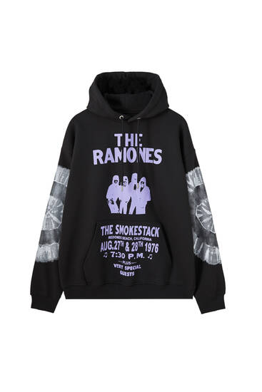 Black Ramones sweatshirt