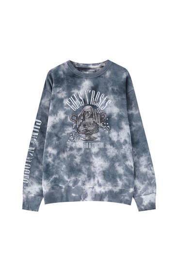 Guns N' Roses tie-dye sweatshirt