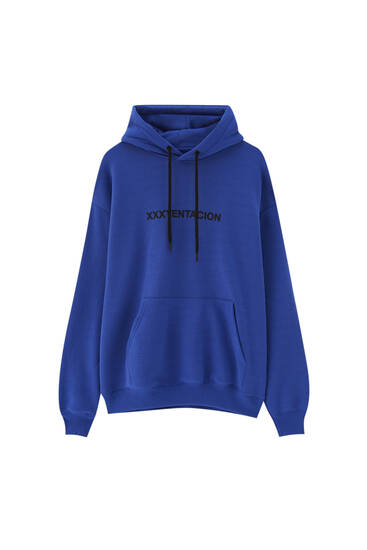 Blue XxxTentation sweatshirt