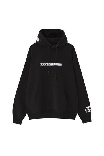 Black XXXTentation sweatshirt