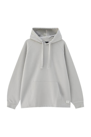 Basic comfort fit hoodie - ecologically grown cotton (at least 75%)