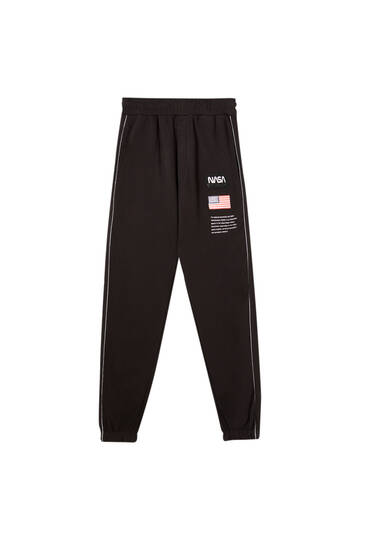NASA logo sweatpants