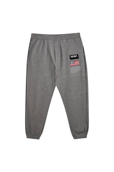 NASA logo jogging trousers