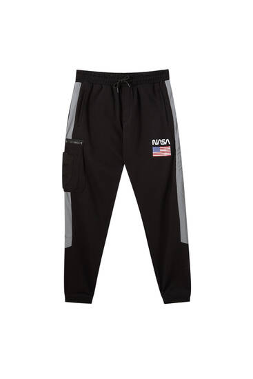 Technical NASA jogging trousers