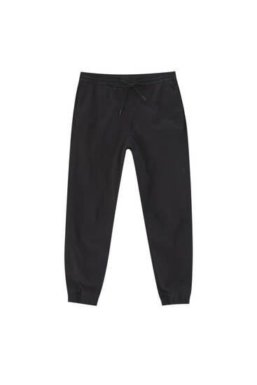 Basic sportske pantalone sa učkurom – organski pamuk (najmanje 50%)