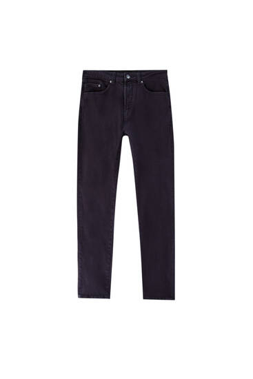 Colour slim fit jeans