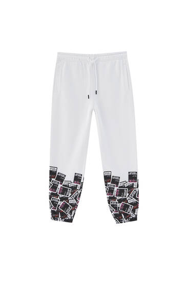 Print joggers with cards