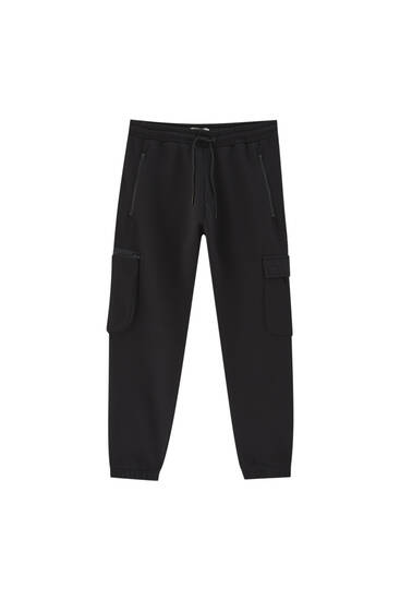 STWD cargo joggers - ecologically grown cotton (at least 50%)
