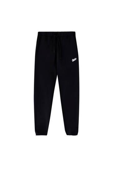 Pantalon jogger collection capsule Homewear