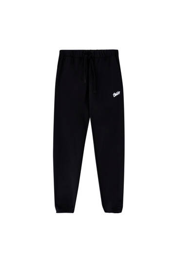 Homewear capsule collection joggers