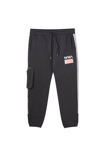 Contrast NASA jogging trousers