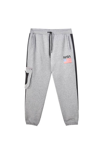 Contrasting NASA sweatpants