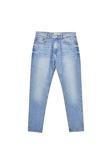 Medium blue slim fit jeans