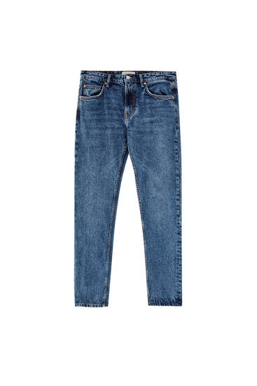 Jeans regular fit blu scuro