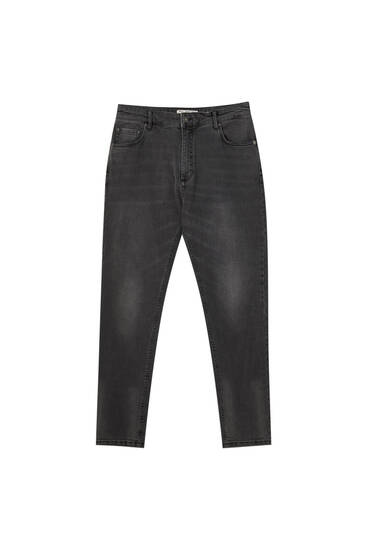Базові джинси-керрот