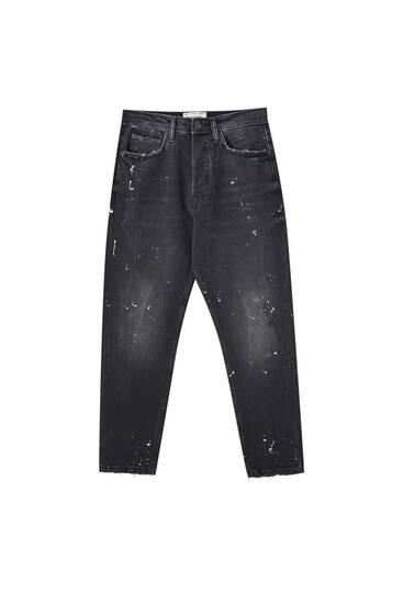 Τζιν παντελόνι loose fit vintage