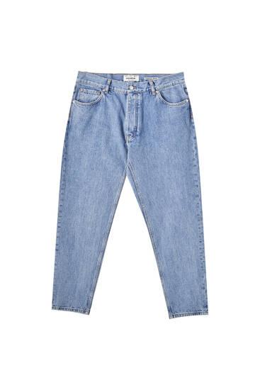 Βαμβακερό τζιν παντελόνι slim fit 90s